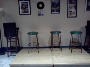Interview area, Asheville Radido Cafe